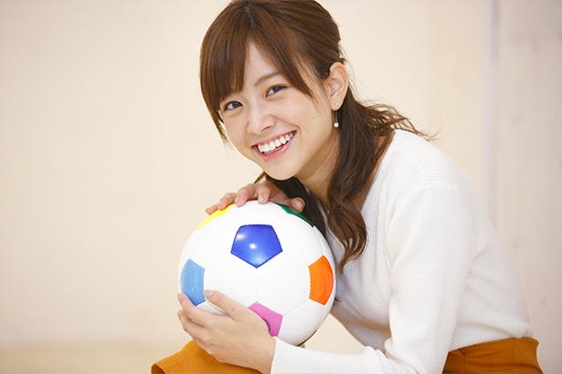 スポーツ好きな中川絵美里